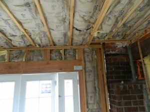 City required new batt insulation to this drywall project done by Generations Construcion.