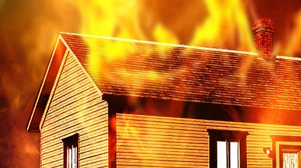 House on fire, Generations Construction responded in 50 min to mediate damages.